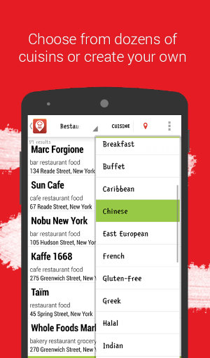 AndroidFindRestaurants-Restaurant-Finder