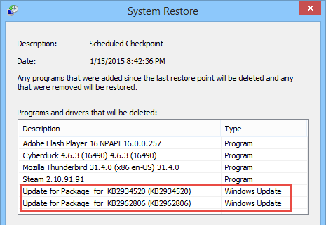system-restore-effected-windows-updates