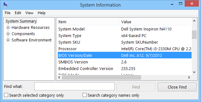 bios-version-system-tool