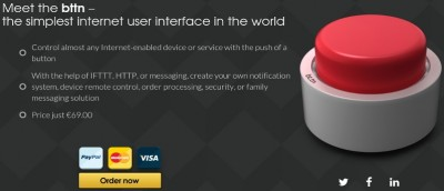Bttn: Control Internet-Enabled Devices and Web Services With a Single Button - Review & Giveaway