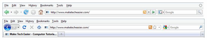 Firefox Legacy UI.