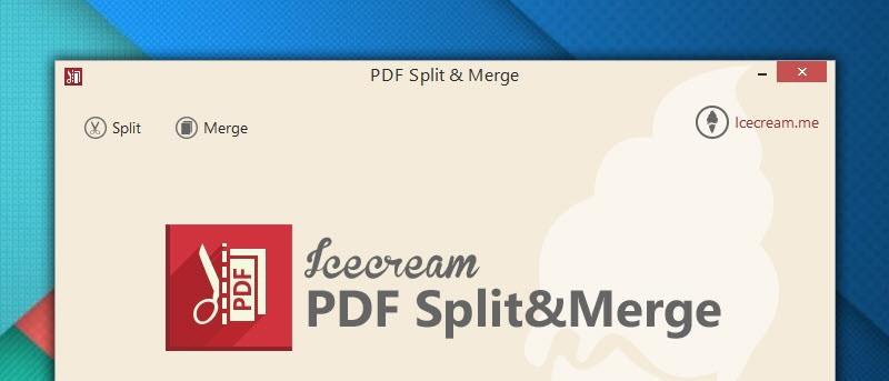 Icecream PDF Split and Merge Review