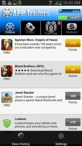 App Trailers Android app