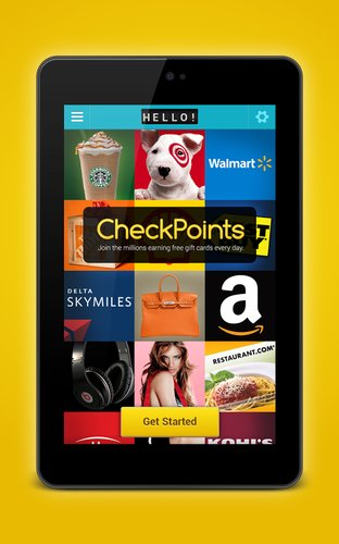 CheckPoints Android app
