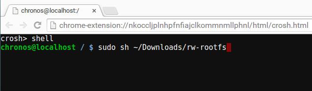 autostart-crouton-start-rootfs-enable-script
