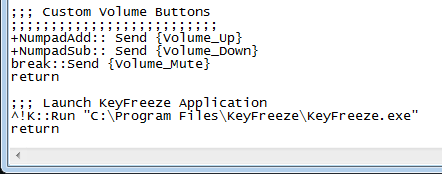 Create a new text document and add this script to the file.