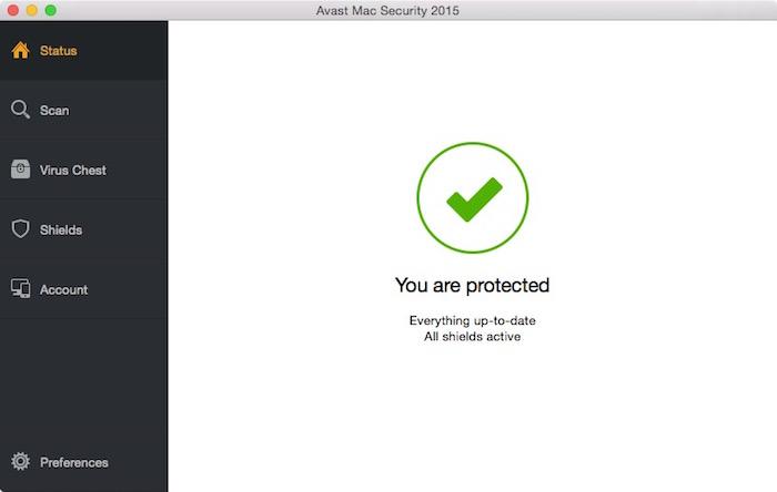 Ccan for threats via a front end GUI.