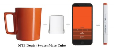MTE Deals: Capture and Reproduce Any Color With SwatchMate Cube