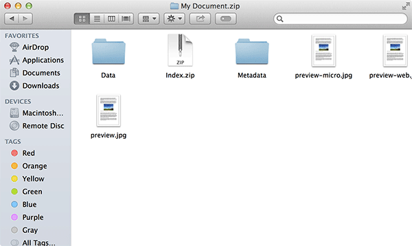 Double-click on the folder that says 'Data.'