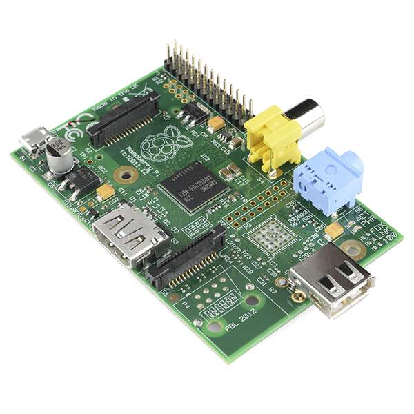 The Raspberry Pi is a full computer.
