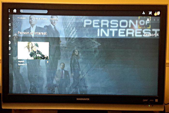 Plex on TV via ZaReason MediaBox 5440.