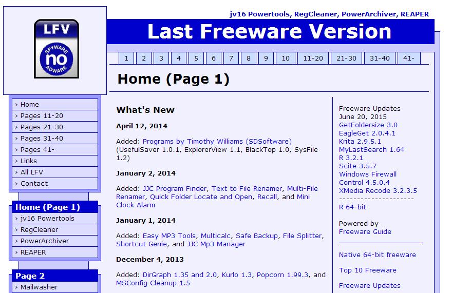 Freew-321D-Homepage