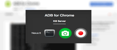 Send ADB Commands to Your Android Device from Chrome with ADB for Chrome