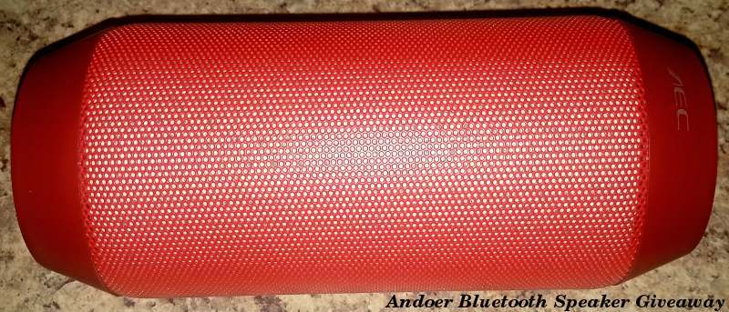 Andoer Multifunctional Bluetooth Speaker With Flashing LEDs - Review and Giveaway
