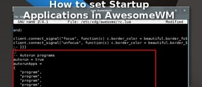 how to make a application start on startup
