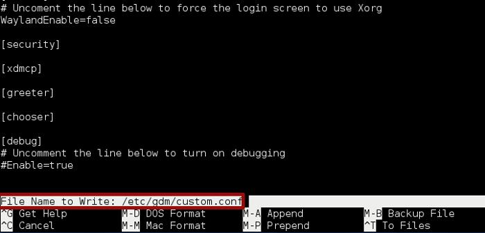 fedora-22-gdm-bug-save-edited-grub-file