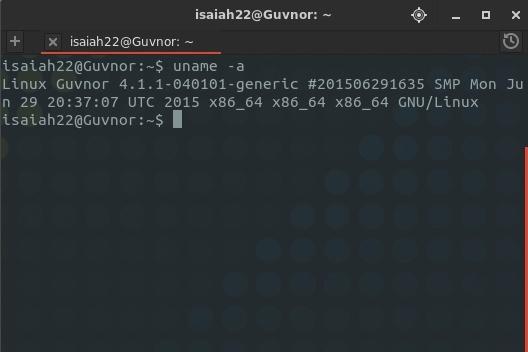 linux-kernel-4.1.1-status