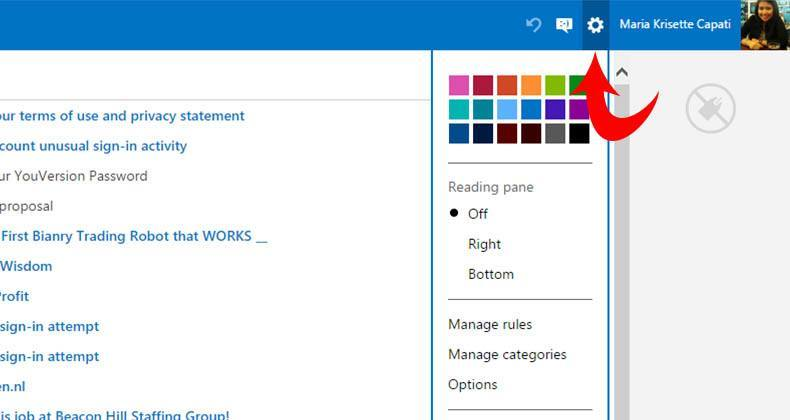 how to set up outlook on windows 8