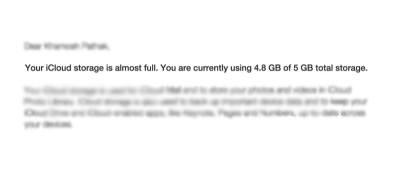 Keep Getting the 'iCloud Storage Is Almost Full' Message? Here's How to Free Up Some Space