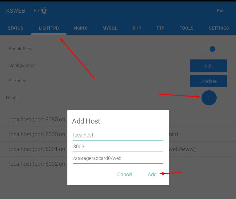 ksweb-add-host
