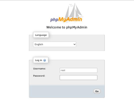 ksweb-phpmyadmin-login
