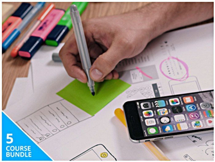Develop Your Mobile Design Skills with 29 Hours of Premium Instruction!