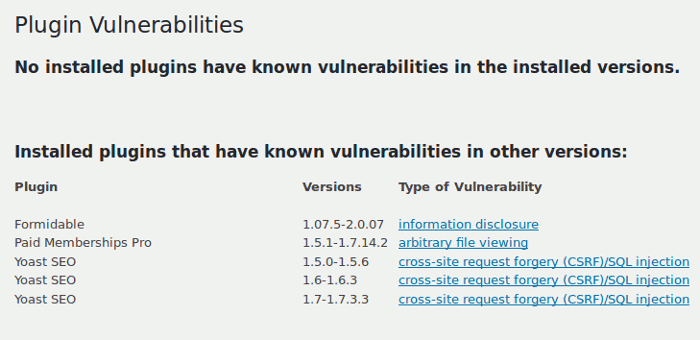 plugins-vulnerabilities-list