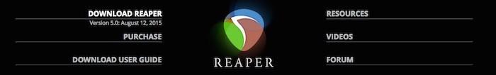reaper-web-screenshot