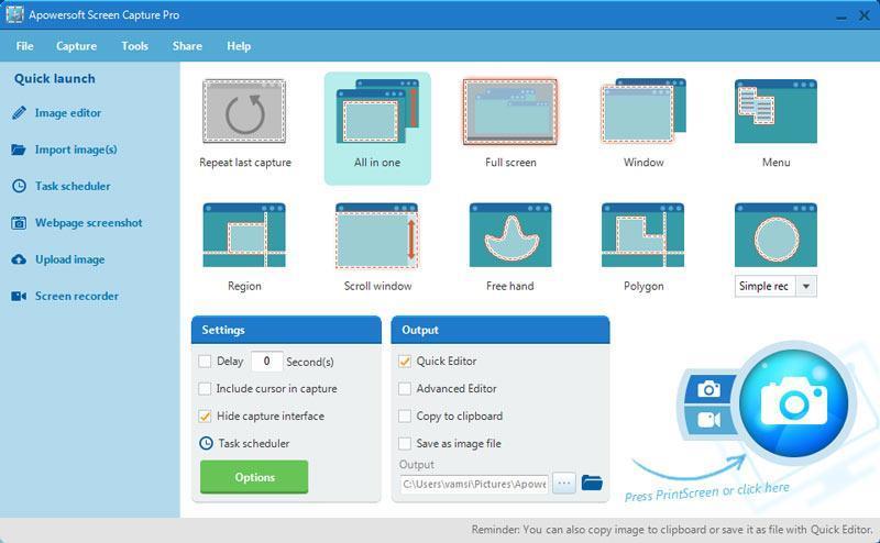 screen-capture-pro-homescreen