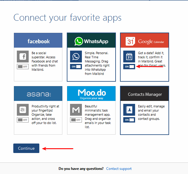 mailbird-choose-apps