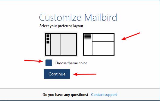 mailbird-choose-layout