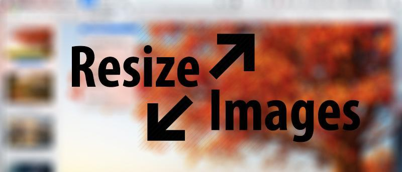 How to Resize Multiple Images At Once on Your Mac