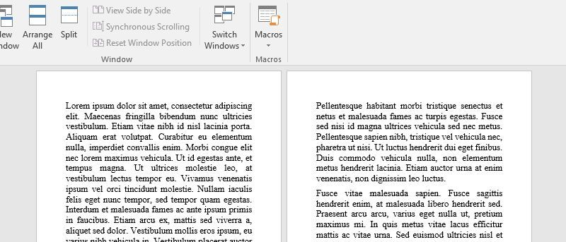 Display One Page at a Time in Word at Any Resolution