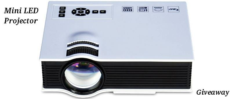 Abdtech Mini LED Projector - Review and Giveaway