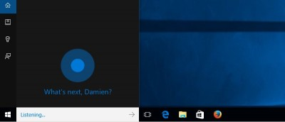 How to Remove Cortana Search Bar and Task View Icon From Windows 10 Taskbar