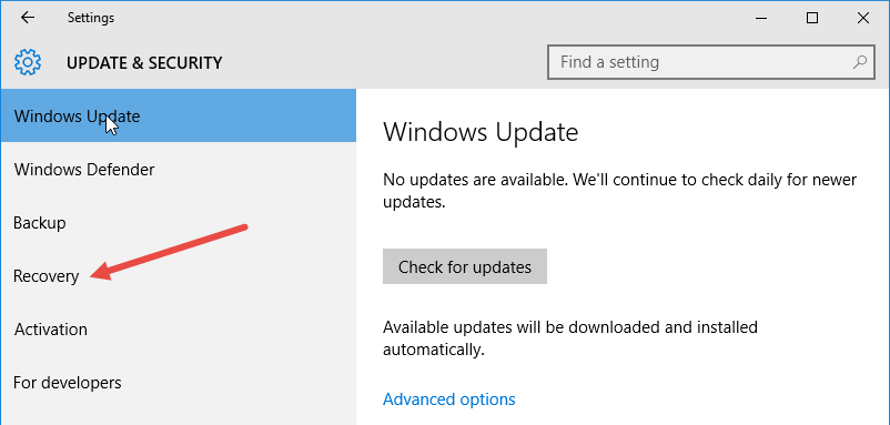 downgrade-from-win10-select-recovery