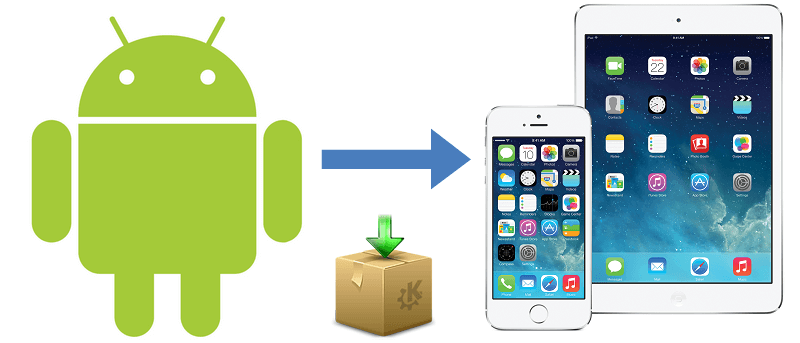 How to Transfer Android Contacts or Entire Data to iPhone