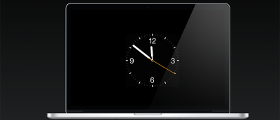 How to Set the Apple Clock Watch Face As the Screen Saver on Your Mac