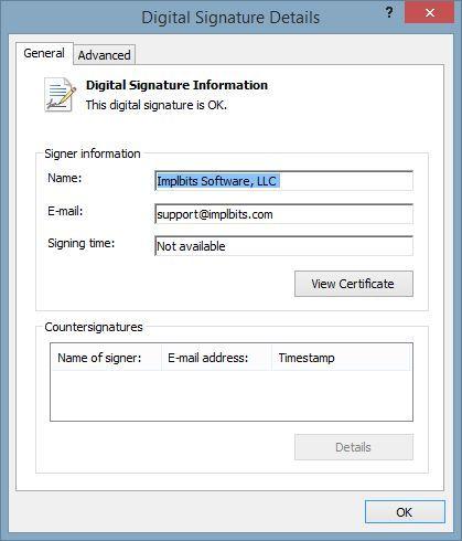 Csum-Software-SignatureDetails