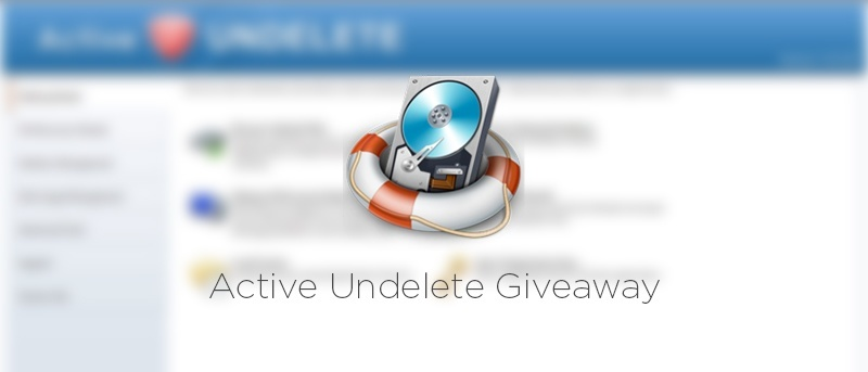 Quickly Recover Deleted Files, Folders and Partitions - Active Undelete Review and Giveaway