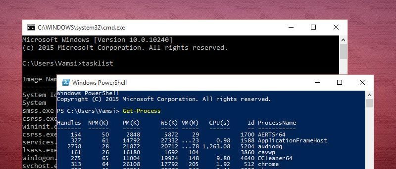 What is the Difference Between Command Prompt and PowerShell