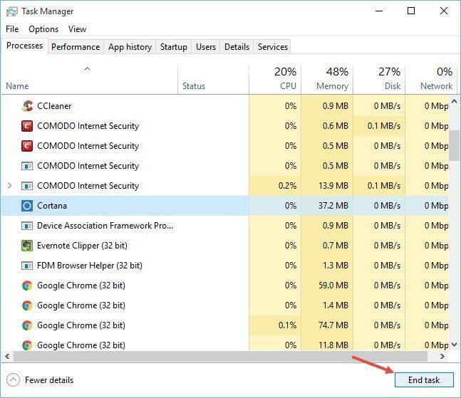 windows-10-start-menu-search-not-working-cortana-end-task