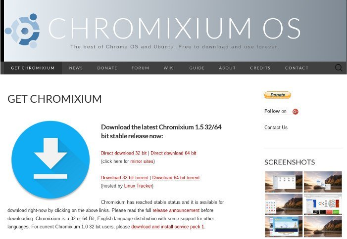 Chromixium-download-page