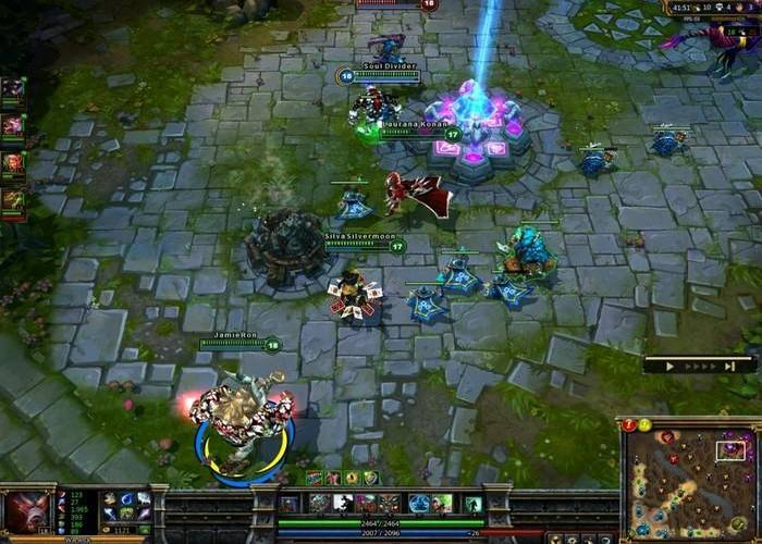MOBA-Games-league-of-legends