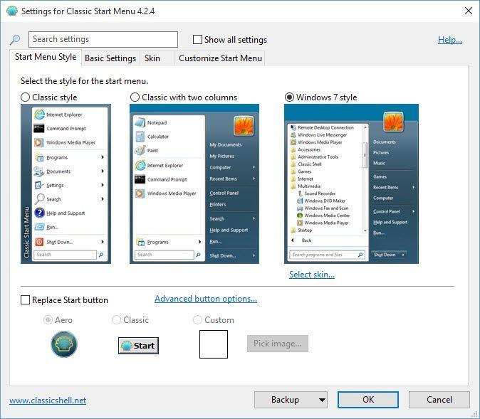 classic-shell-select-start-menu-style