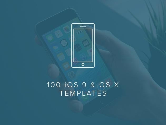 100 iOS 9 and OS X Templates