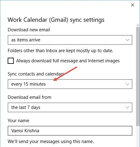 win10-calendar-app-sync-frequency