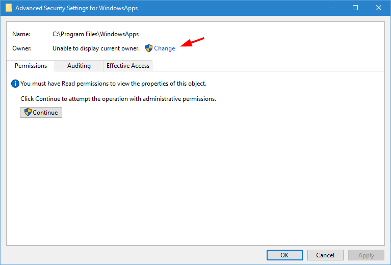 windowsapps-folder-click-change