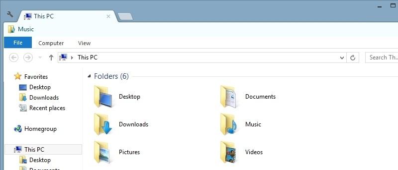 Add Tabs to Windows Explorer using Clover