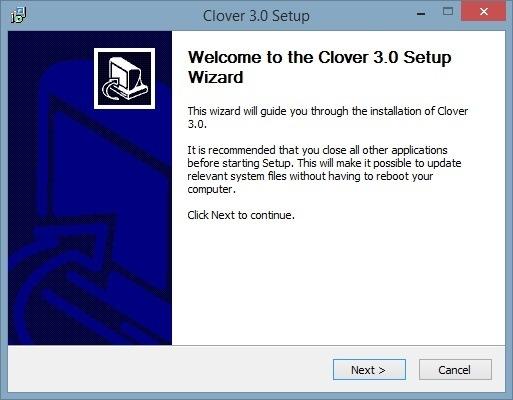 Clex-Installer-Startup